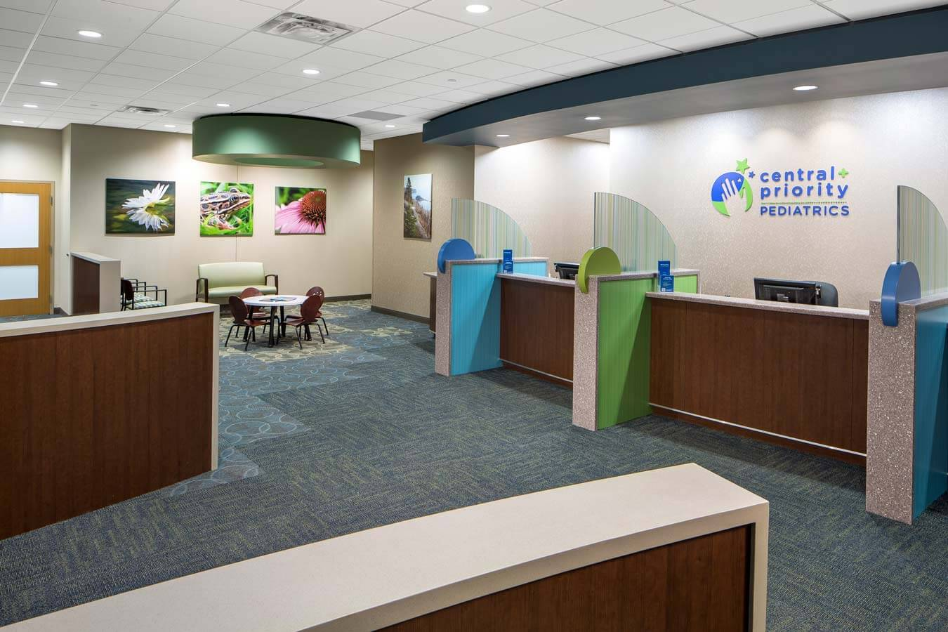 Mohagen Hansen | Architecture | Interior Design | Minneapolis |Central Pediatrics