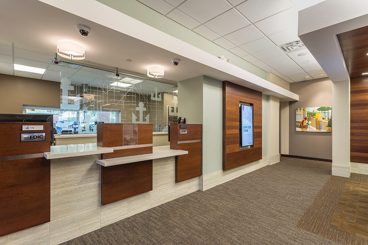 Anchor Bank | Wayzata | Mohagen Hansen | Architecture | Interior Design