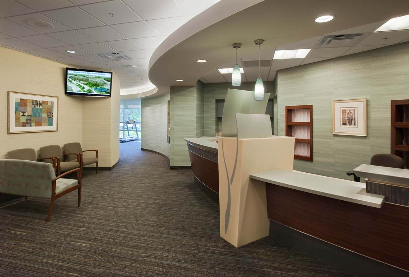 Twin cities orthopedics edina site planning specialty for Interior design minneapolis