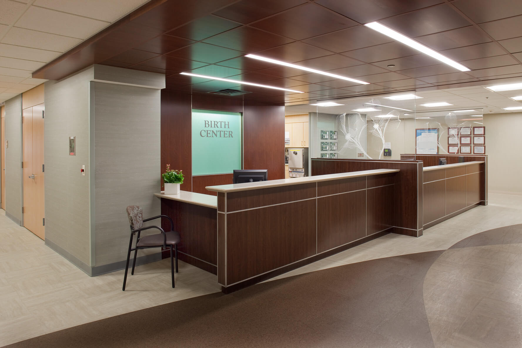Mohagen Hansen | Architecture | Interior Design | Minneapolis | Allina Unity Hospital Birthing Center
