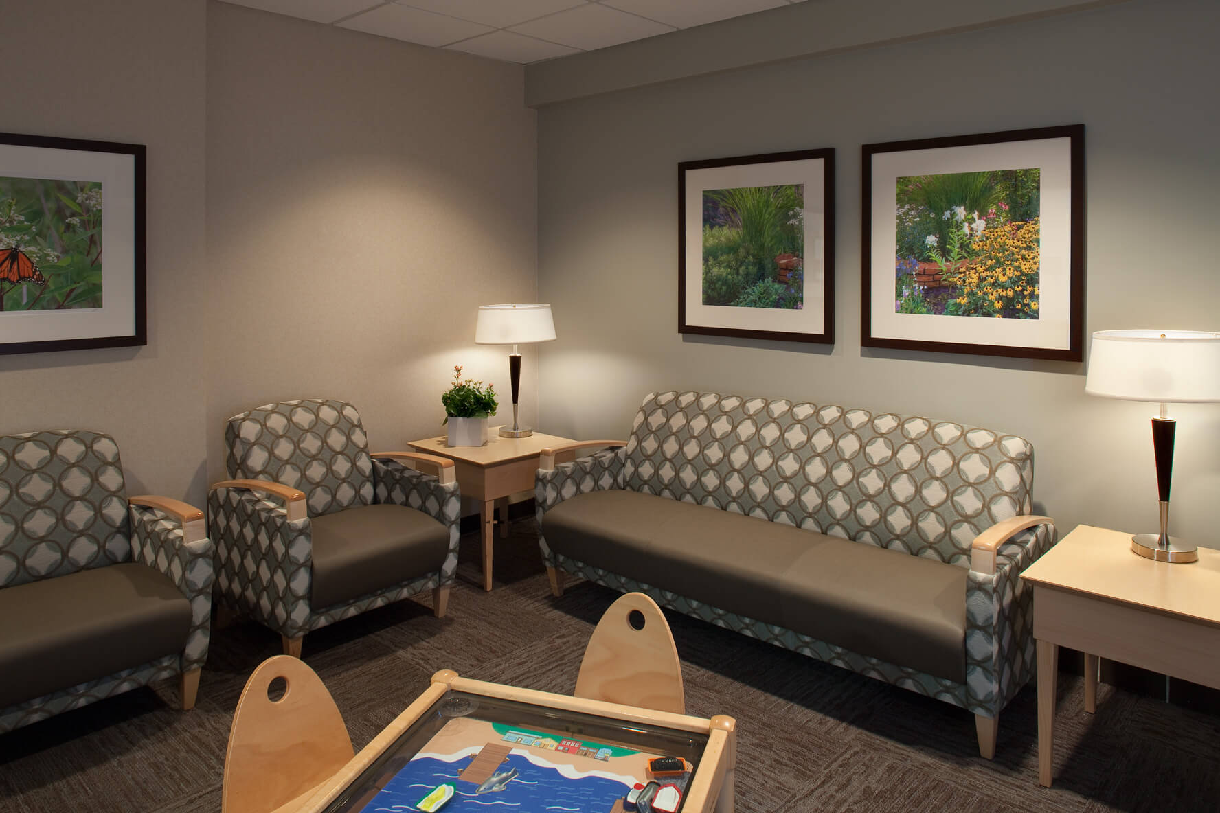 Mohagen Hansen | Architecture | Interior Design | Minneapolis | Allina Unity Hospital Birthing Center