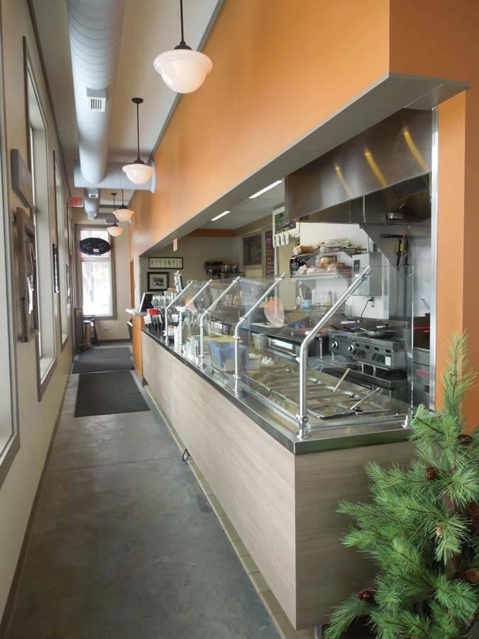 buffet line at dakota junction