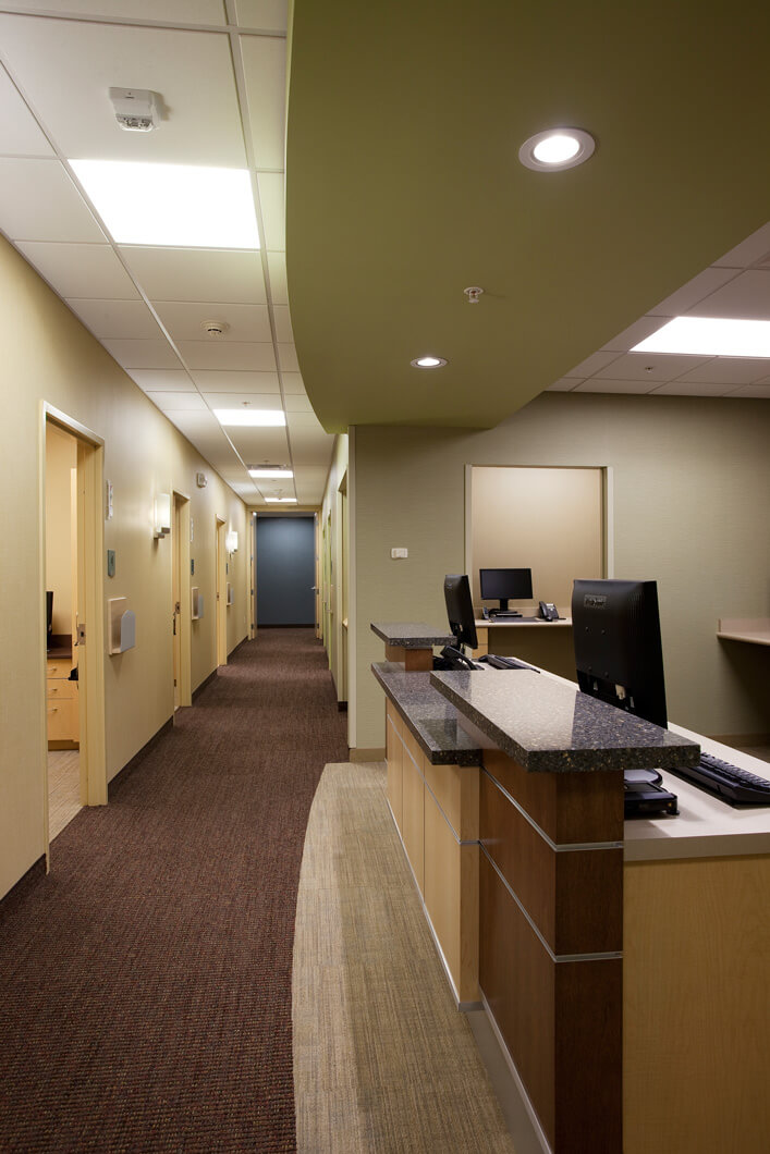 Mohagen Hansen | Architecture | Interior Design | Minneapolis | Fairview Wyoming Orthopedic Specialty Center