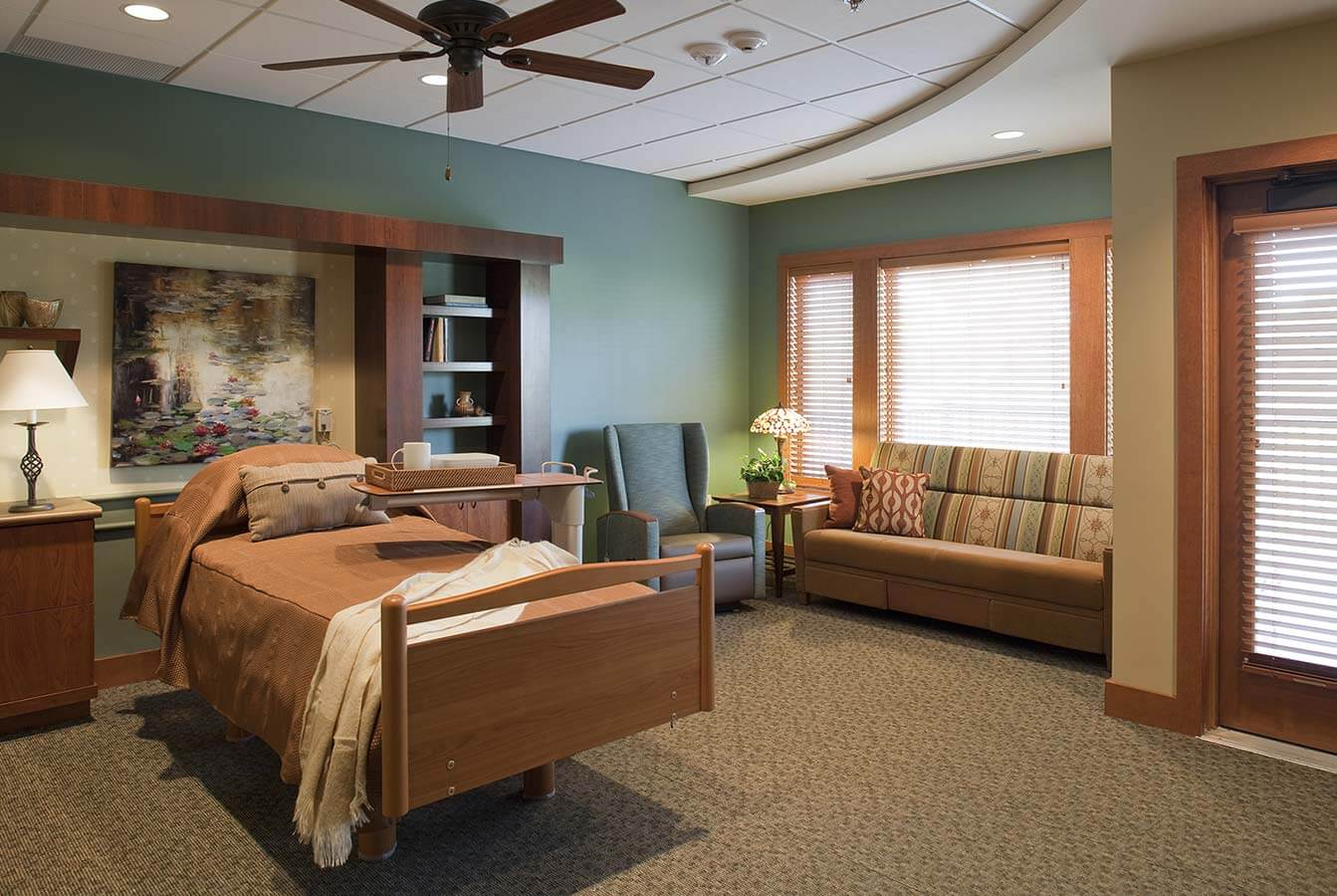 J A Wedum Residential Hospice House Space Planning Senior Living Space Planning Minneapolis
