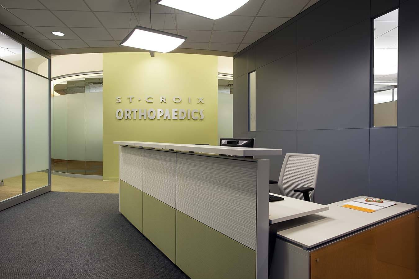 Mohagen Hansen | Architecture | Interior Design | Minneapolis |St. Croix Orthopaedics