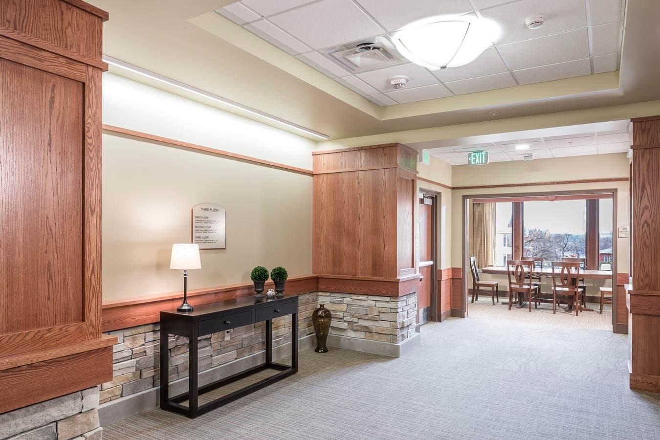VA Home Hallway