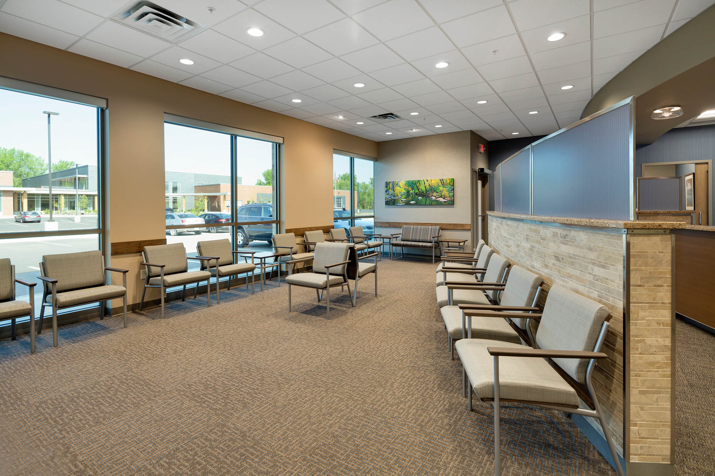 Maplewood Oral and Maxillofacial Surgery| Mohagen Hansen | Architecture | Interior Design | Minneapolis