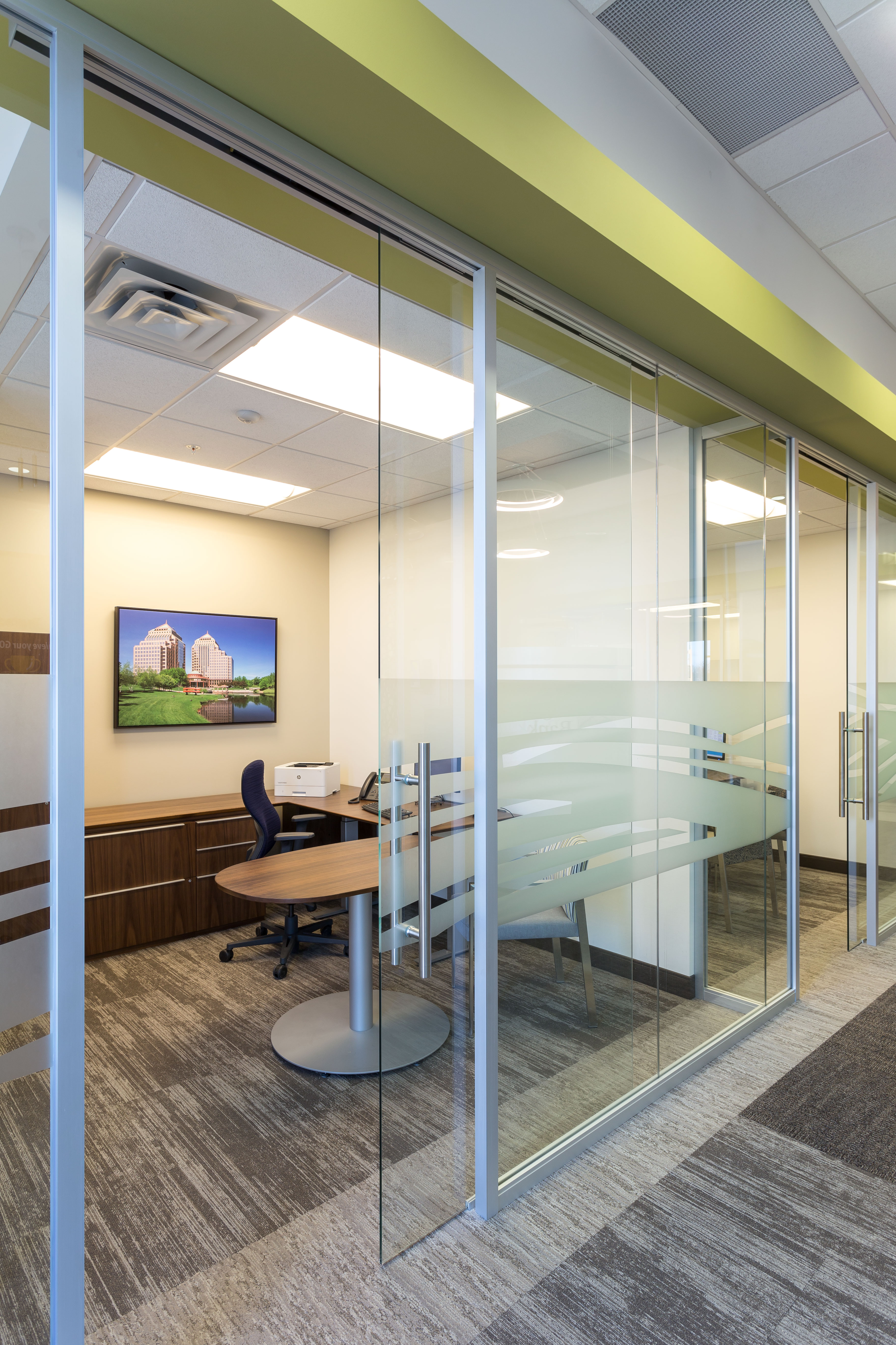 highland bank minnetonka office redesign