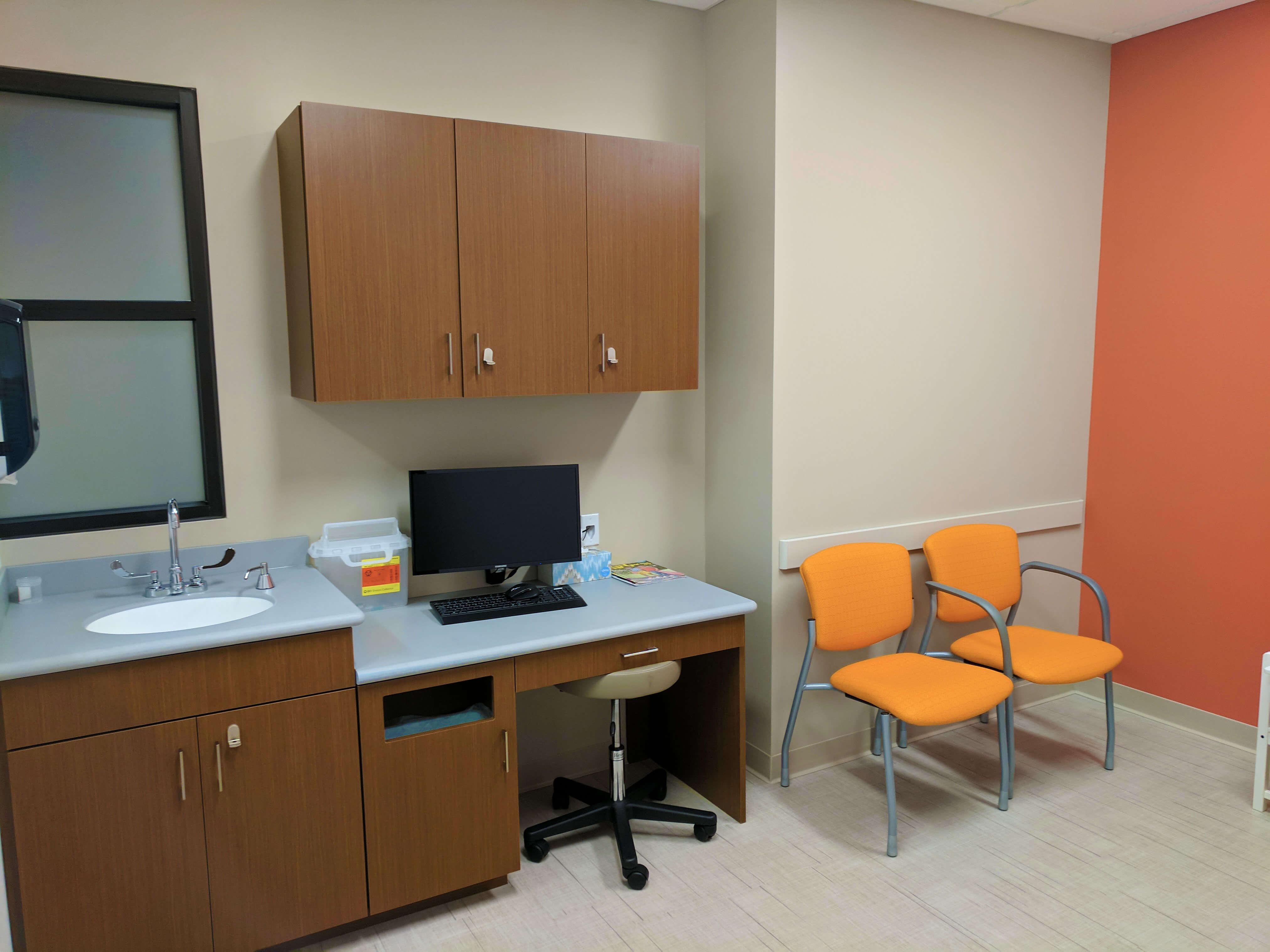 Grow Pediatrics exam room