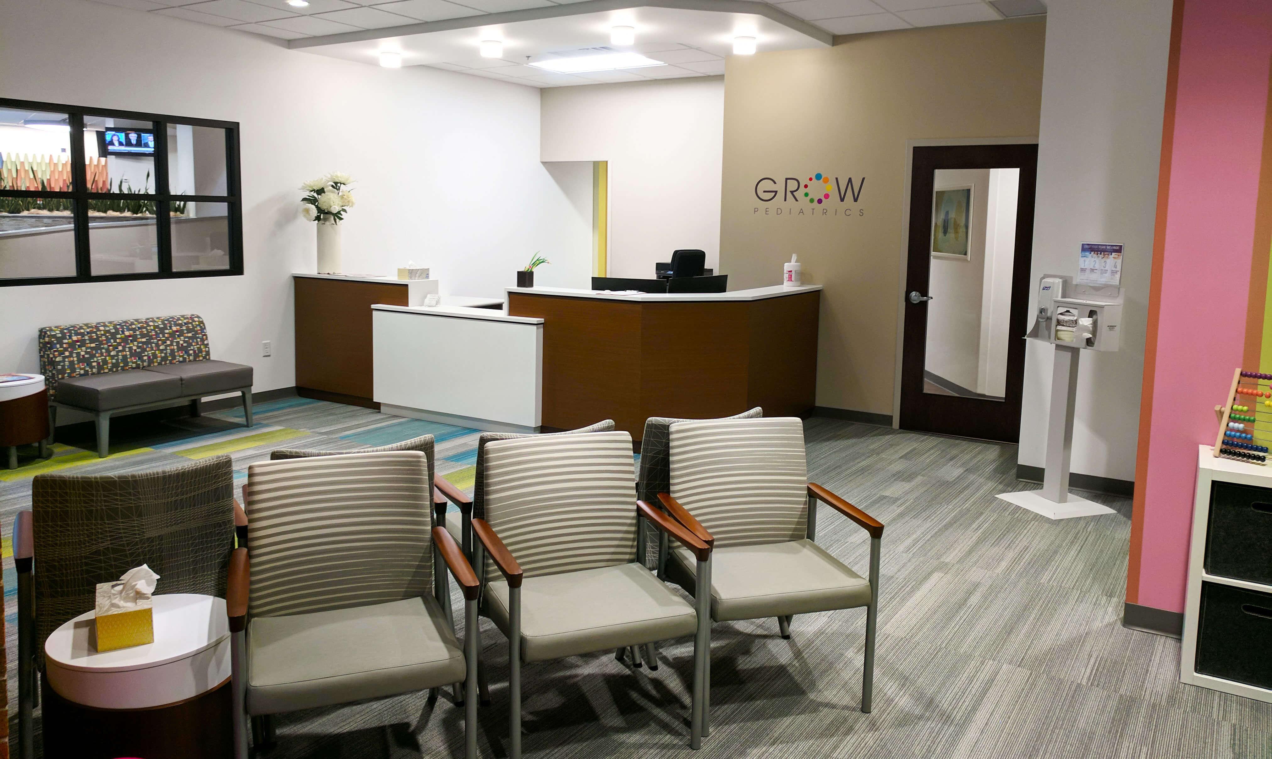 Grow pediatrics office design