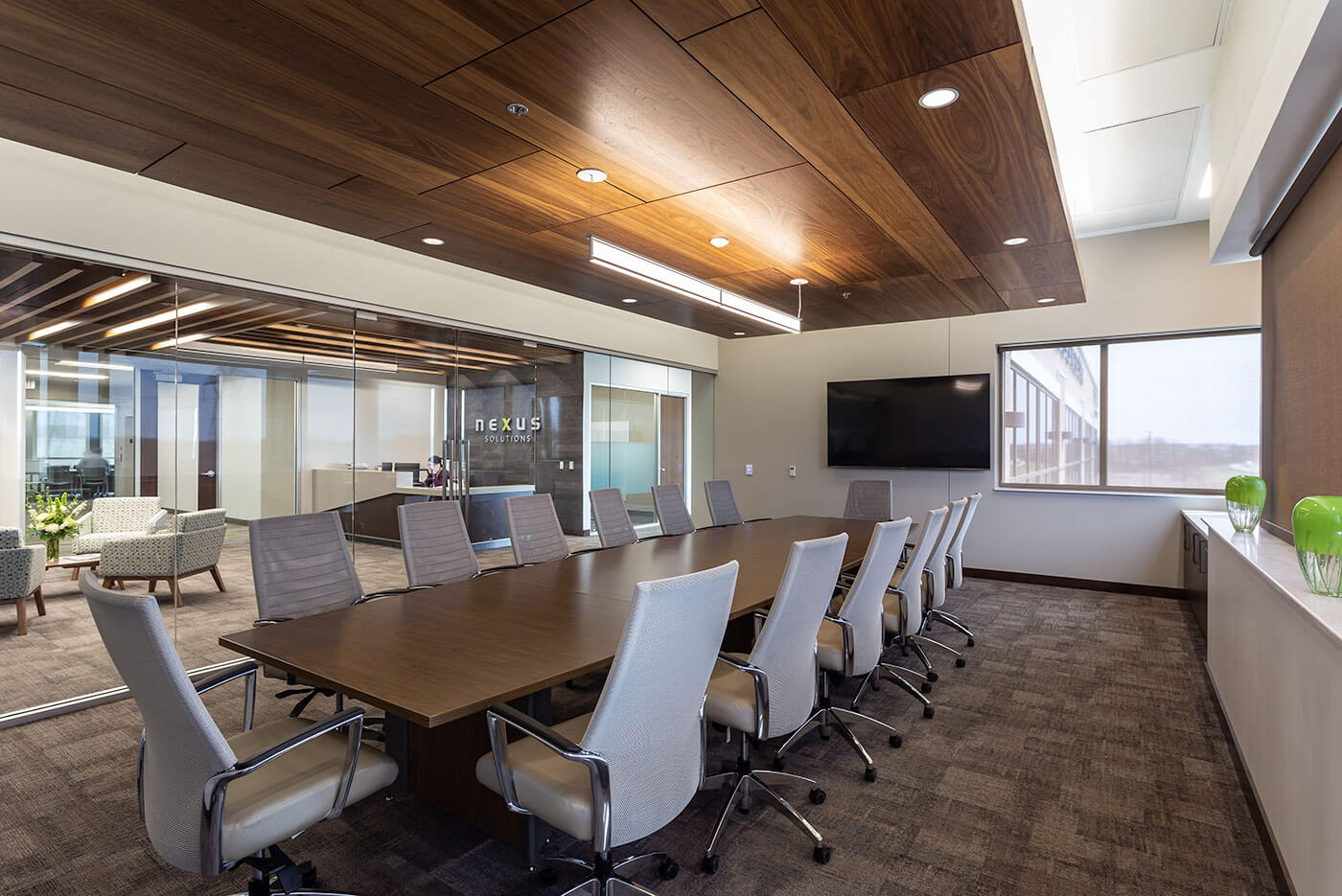 Nexus Solutions Conference Room Design | Mohagen Hansen