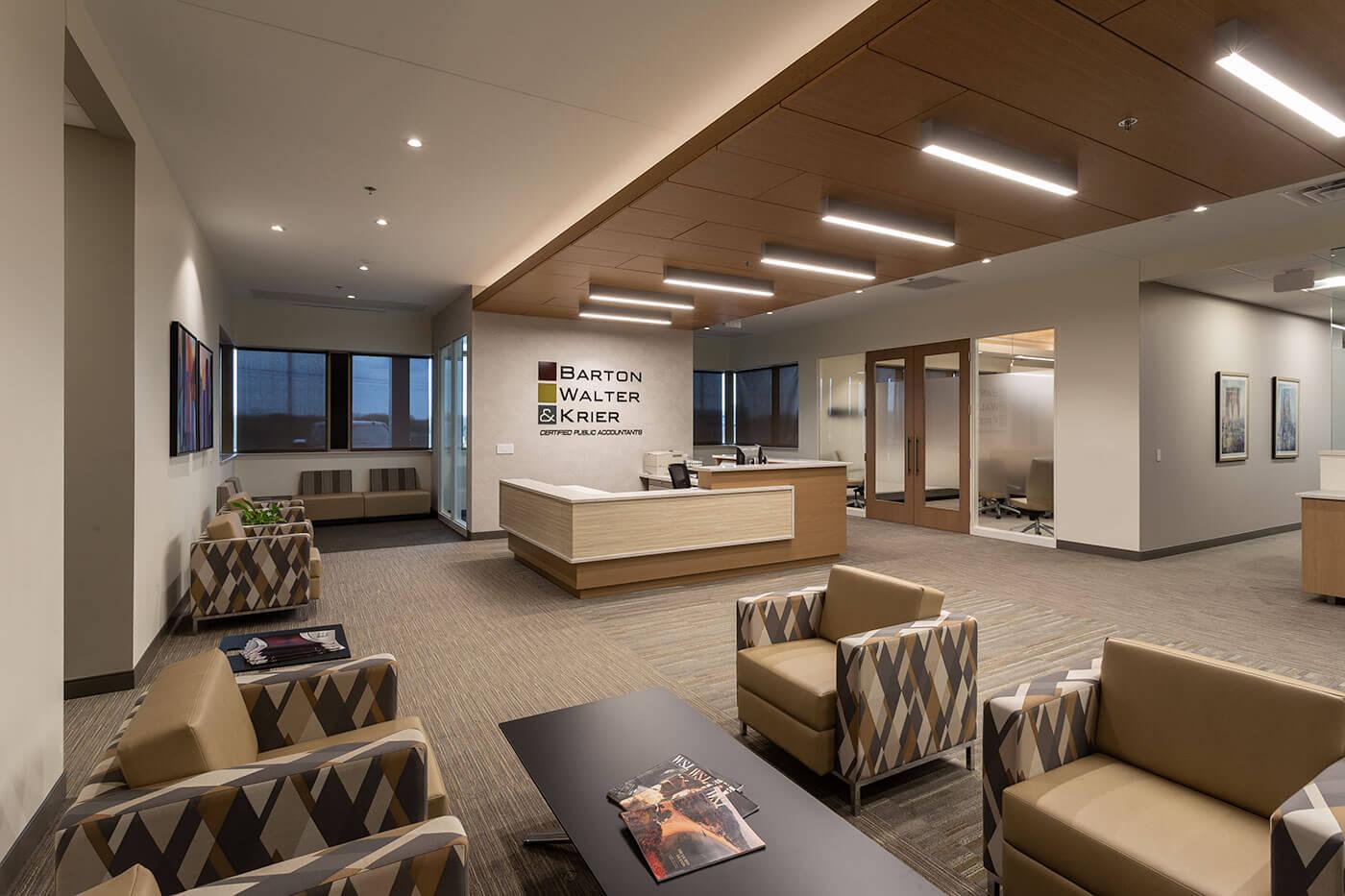 Barton, Walter, Krier office interior design | Mohagen Hansen