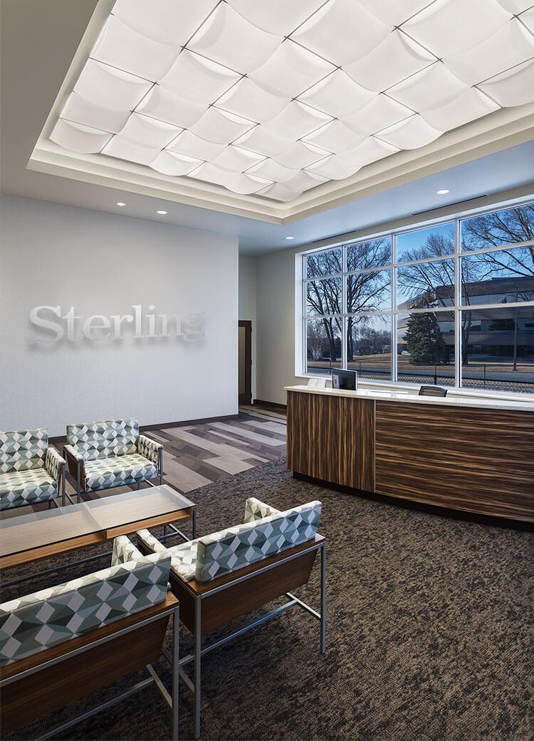 Sterling_Lobby | Mohagen_Hansen_Laboratory Mohagen Hansen | Architecture | Interior Design | Minneapolis | Sterling Pharmacy