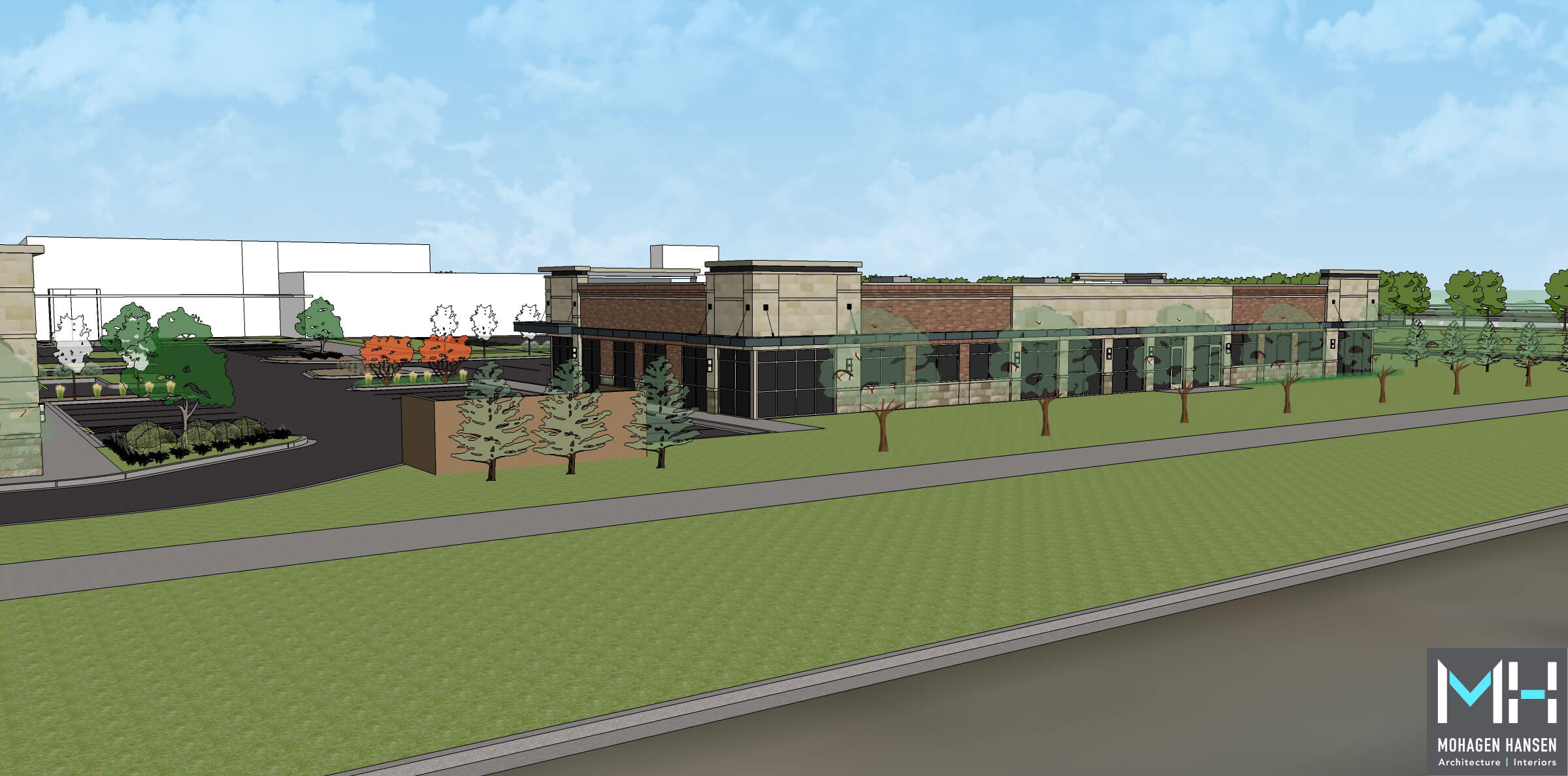 forest lake commons retail development